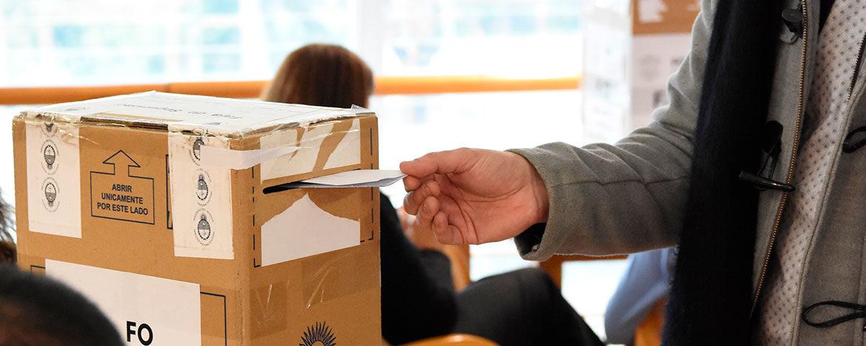 Ya está disponible el registro para que puedan inscribirse estudiantes, egresadas y egresados que opten votar por correo postal